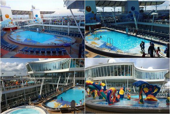 Oasis of the Seas Pools