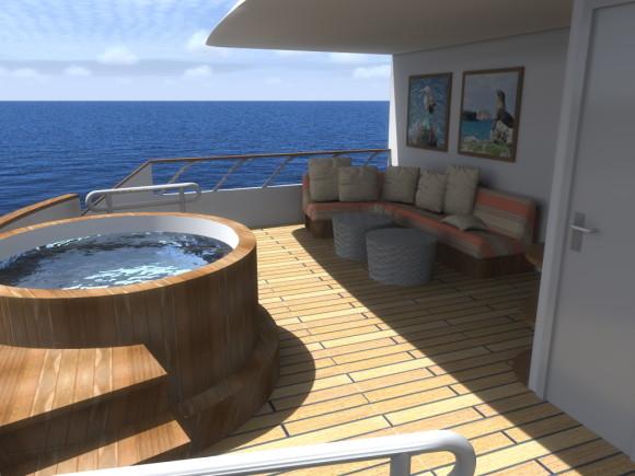 MV Origin Exterior Stern Lounge (Image Ecoventura)
