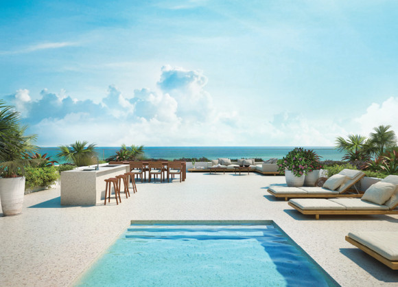 Fasano Shore Club Penthouse Roof Terrace photo by Fasano Shore Club