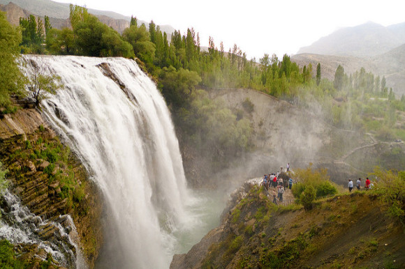 Tortum Falls, photo by littlebox5 used under the Creative Commons License