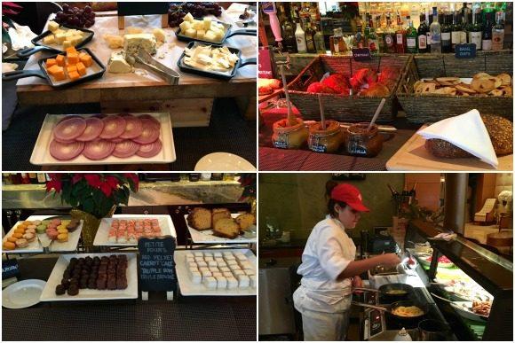 AQ at Aqualina Buffet Breakfast