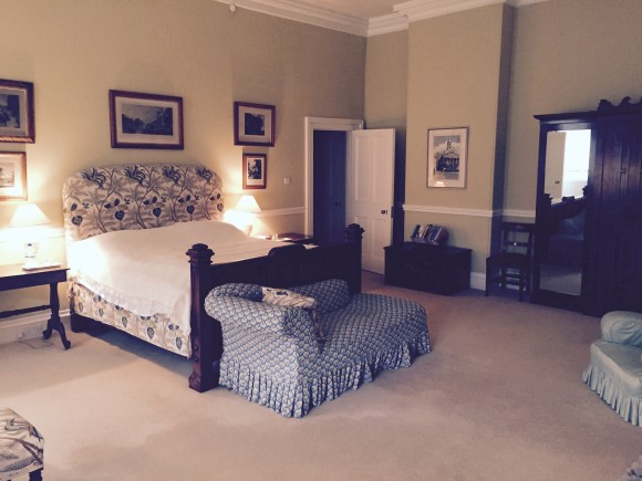 The spacious Queen Bedroom at Crom Castle Ireland (Image: Crom Castle)
