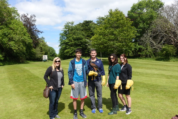 School of Falconry at Dromoland Castle