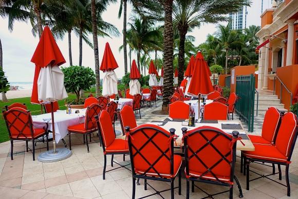 Costa Grill Outdoor Restaurant at Acqualina