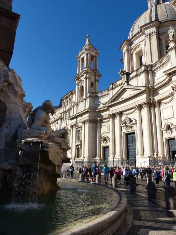 Fontana 4 Fiumi Rome
