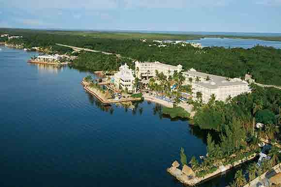 Aerial view photo courtesy of Key Largo Bay Marriott Beach Resort