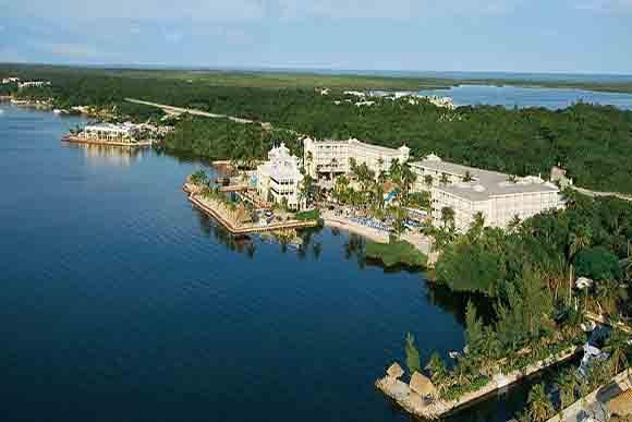 Aerial view photo courtesy of Key Largo Bay Marriott Beach Resort