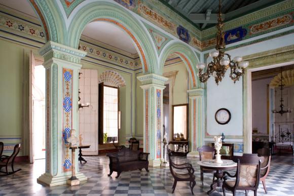 Palacio Cantero Entrance Hall (Museo Historico Municipal), Trinidad, Cuba