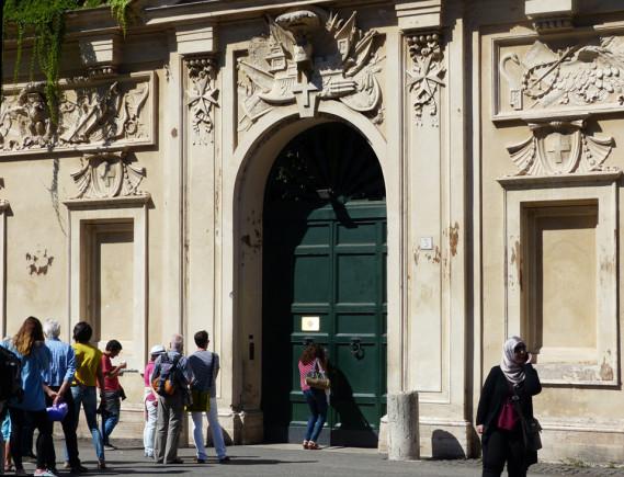 Peephole Door Rome