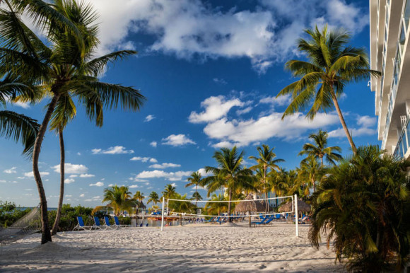 Beach Volleyball photo courtesy of Key Largo Bay Marriott