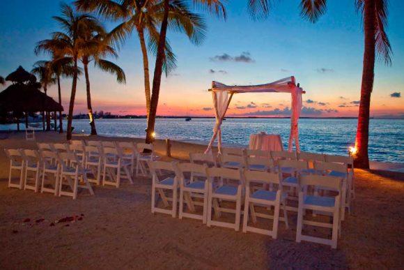 Sunset Wedding Venue photo courtesy of Key Largo Bay Marriott Resort