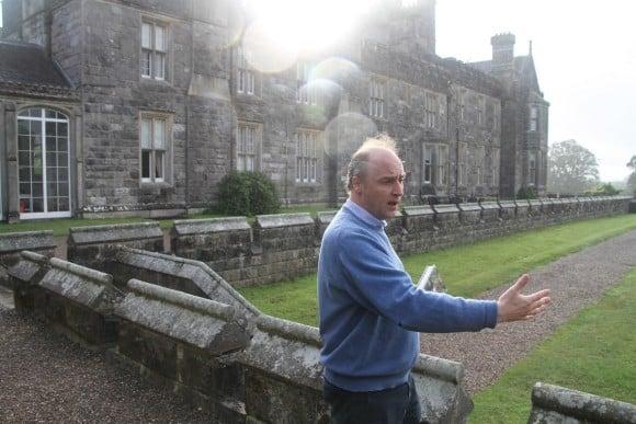 The Earl of Erne, John Crichton at Crom Castle (Image: Crom Castle