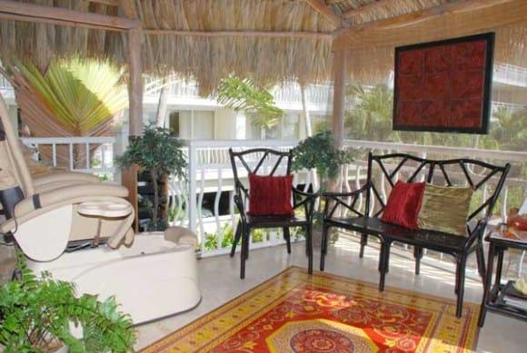 Spa area photo courtesy of Key Largo Bay Marriott Resort