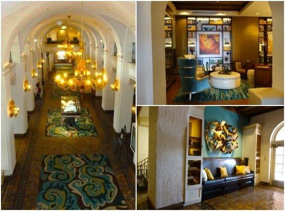 The interior of The Vinoy Renaissance St. Petersburg Resort & Golf Club