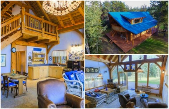 Carl's House Photo Courtesy of The Chilko Experience Wilderness Resort in BC