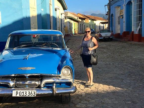 Exploring the cobblestone streets of Trinidad Cuba