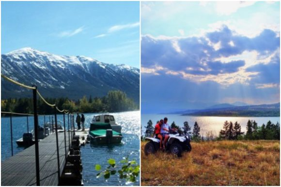 Activities at The Chilko Experience Wilderness Resort in BC