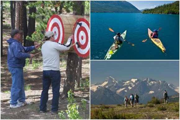 Outdoor Activities at The Chilko Experience Wilderness Resort in BC