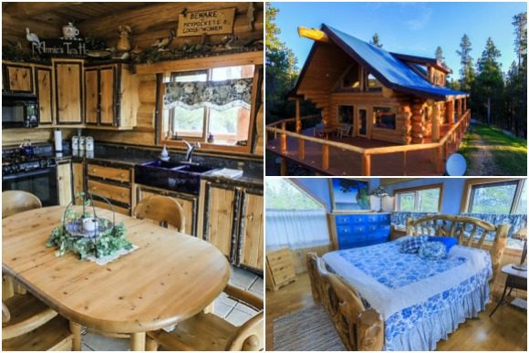 Anne's Tea House Photo Courtesy of The Chilko Experience Wilderness Resort in BC