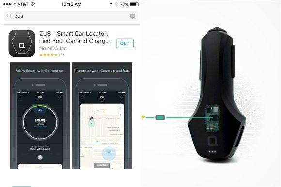 ZUS Smart Car Charger App