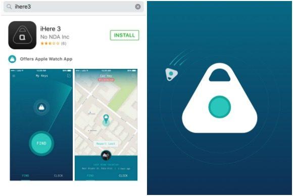 iHere 3 App