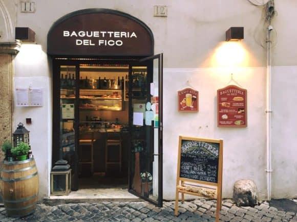 Photo Courtesy of Baguetteria del Fico