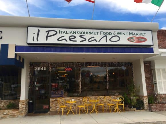 il Paesano Italian Gourmet Food & Wine Market Store Front