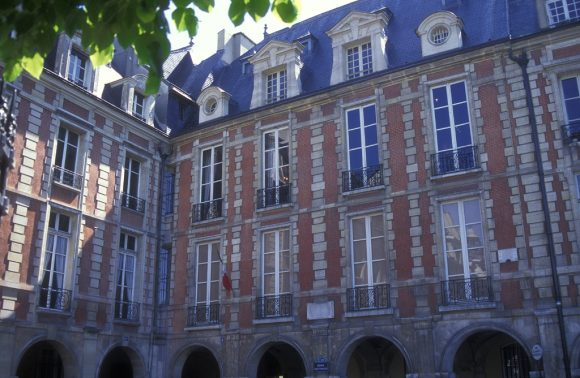 Victor Hugo's apartment on the Place des Vosges