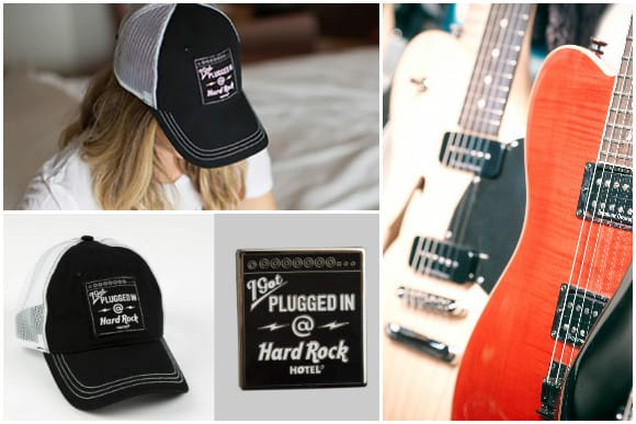 """Limited Edition """"I Got Plugged In @ Hard Rock Hotels"""" Hat and Pin"""