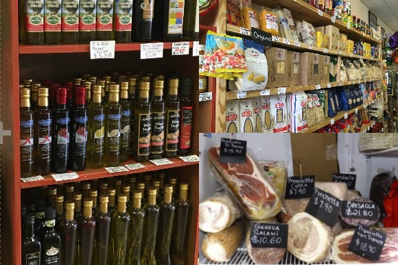 il Paseano Meats, Olives Oils and Pastas Selections