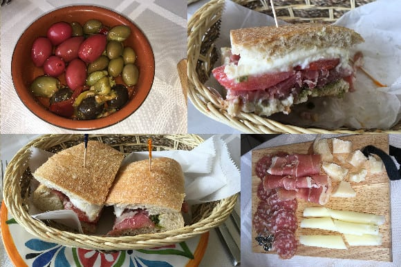 il Paesana Italia Panini and Food Selections