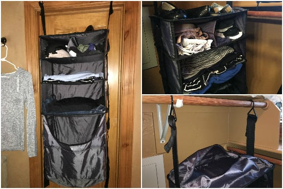 RISE Gear compartments