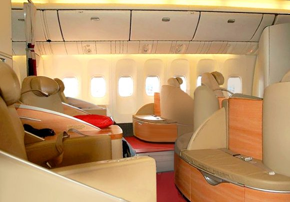 Air France Lespace Premiere 777 Cabin