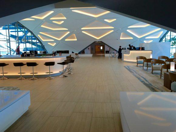 Westin DIA - Sky Lounge Bar and Lobby Area