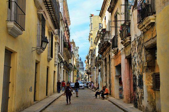 Streets of Old Havana Cuba