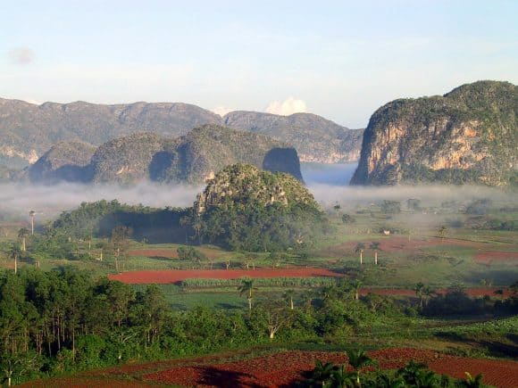 Cuba Mountain Range