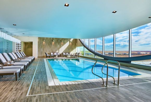 Lap Pool at the Westin DIA (Image: Starwood)