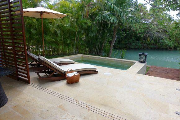 Deluxe Lagoon Suite Terrace - Rosewood Mayakoba