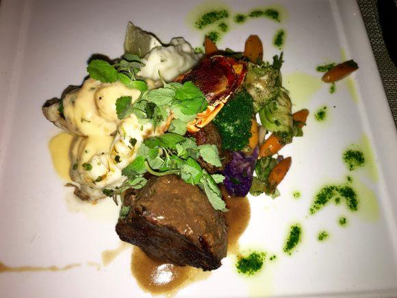 Resorts World Bimini - The Sabors Restaurant Steak Dinner