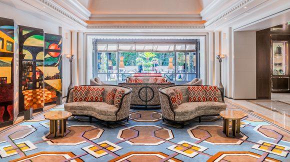 Lobby Area - Image Courtesy of Hotel Villa Magna