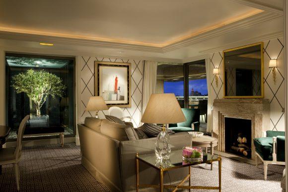 Suite Royal Living Room - Image Courtesy of Hotel Villa Magna