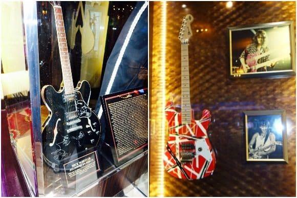 Seminole Hard Rock Hotel & Casino Tampa Music Memorabilia