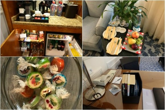 Little Extras at the Four Seasons Hotel Prague
