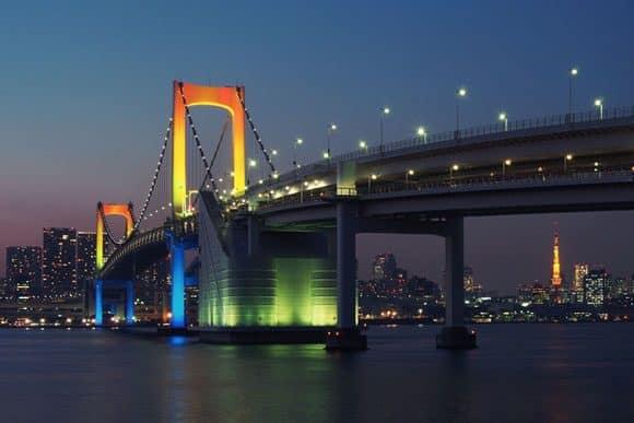 Tokyo Bridge (Flickr: Balint Foldesi used under the Creative CC)