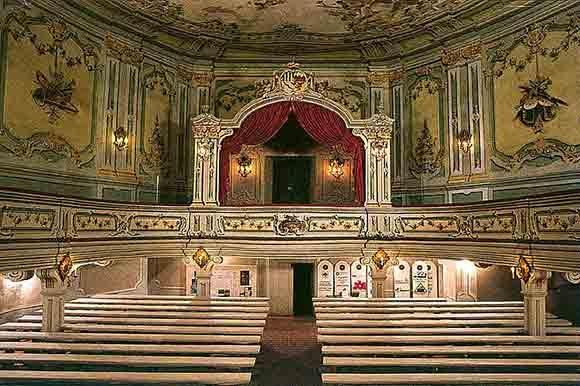 The Baroque Theater Image Cesky Krumlov Castle