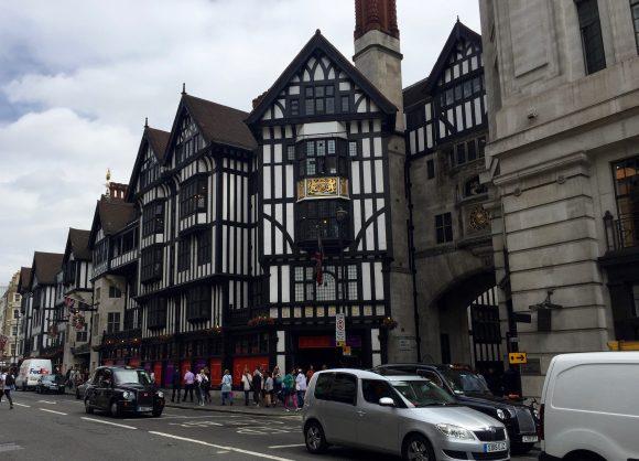 Liberty Shopping in London