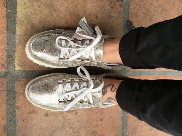 Mephisto Silver Venise Women's Shoes