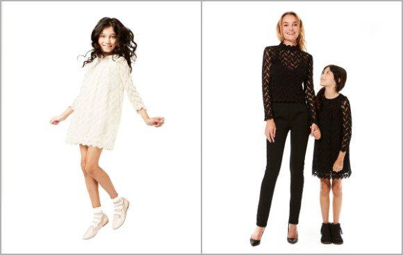 Dalia Lace Dress and Dalia Top by SemSem