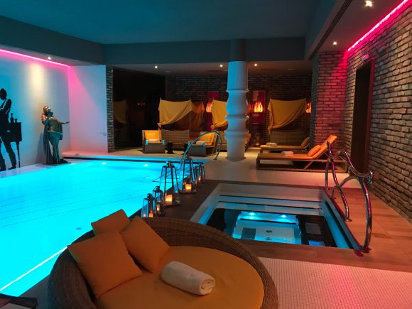 Pool Area of The Harmony Spa - Aria Hotel Budapest