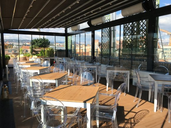 The High Note SkyBar Dining Area